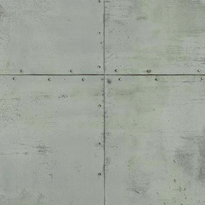 Papier peint Plaque Métal vert de gris - PARK AVENUE - Lutèce - 51193004