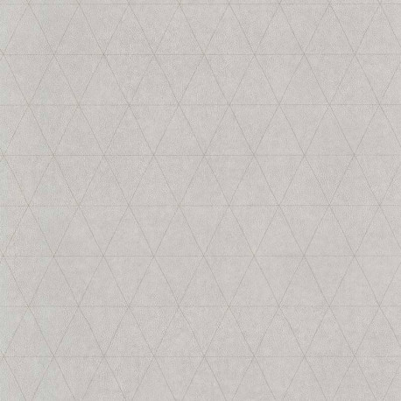 Papier peint Cuir Losange gris - PARK AVENUE - Lutèce - 51192929