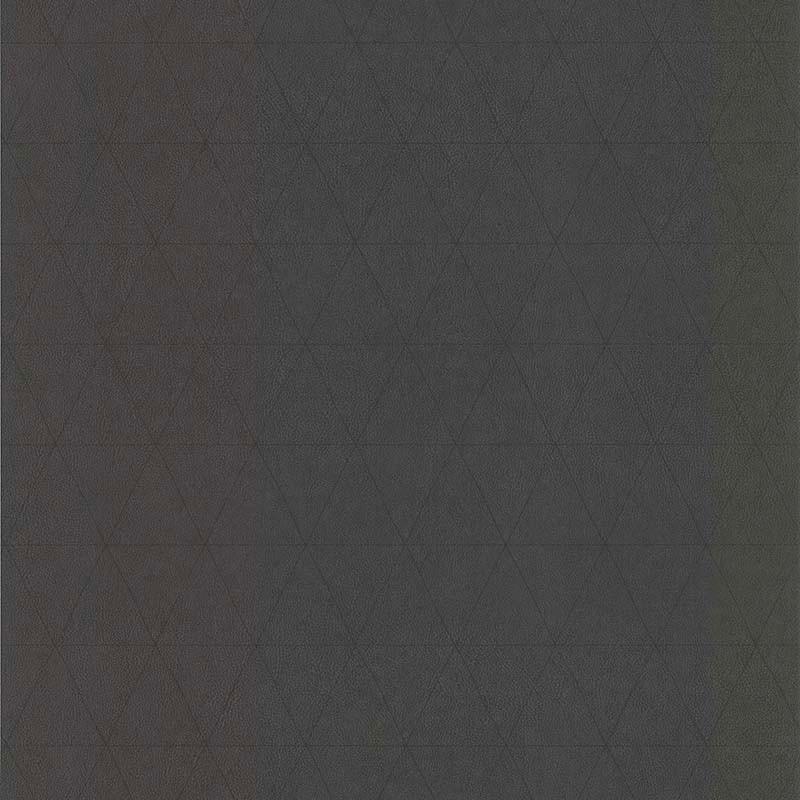 Papier peint Cuir Losange noir - PARK AVENUE - Lutèce - 51192919