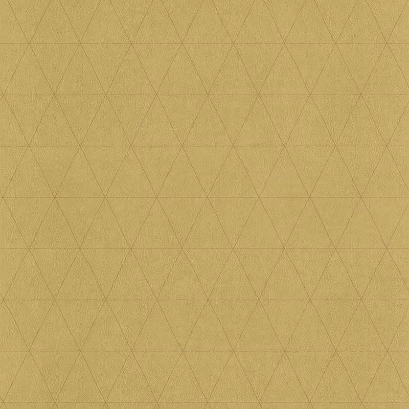 Papier peint Cuir Losange ocre - PARK AVENUE - Lutèce - 51192902