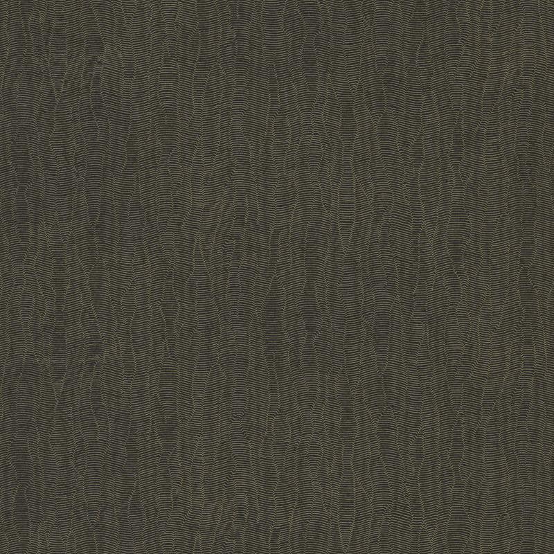 Papier peint Gallant uni noir doré - BLOSSOM - Casamance - B72342374