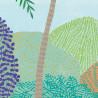 Panoramique Peaceful Heaven vert émeraude et bleu - BEAUTY FULL IMAGE - Caselio - BFI101557422