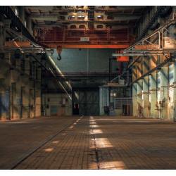 Panoramique Lost In The Factory noir - BEAUTY FULL IMAGE  - Casadeco - BFIM85049525