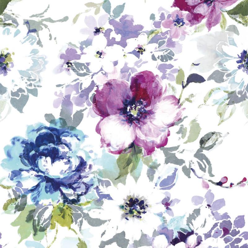 Panoramique Idyllique luxuriante violet - BEAUTY FULL IMAGE  - Casadeco - BFIM89395242
