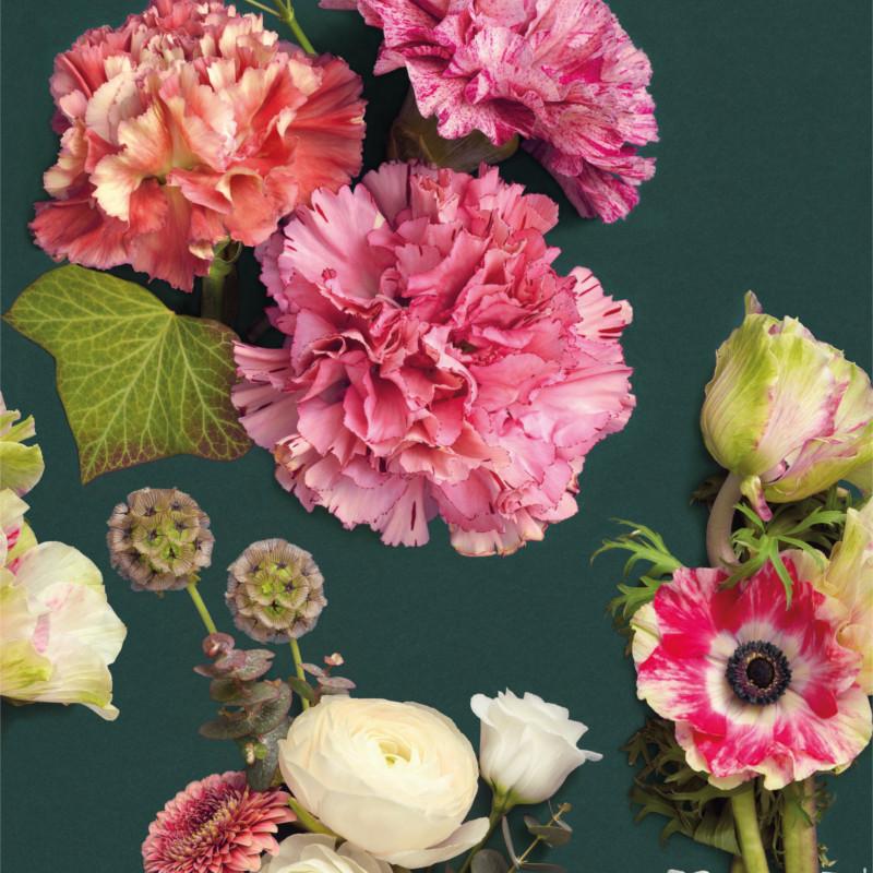 Panoramique Luxuriante rose - BEAUTY FULL IMAGE  - Casadeco - BFIM89414243
