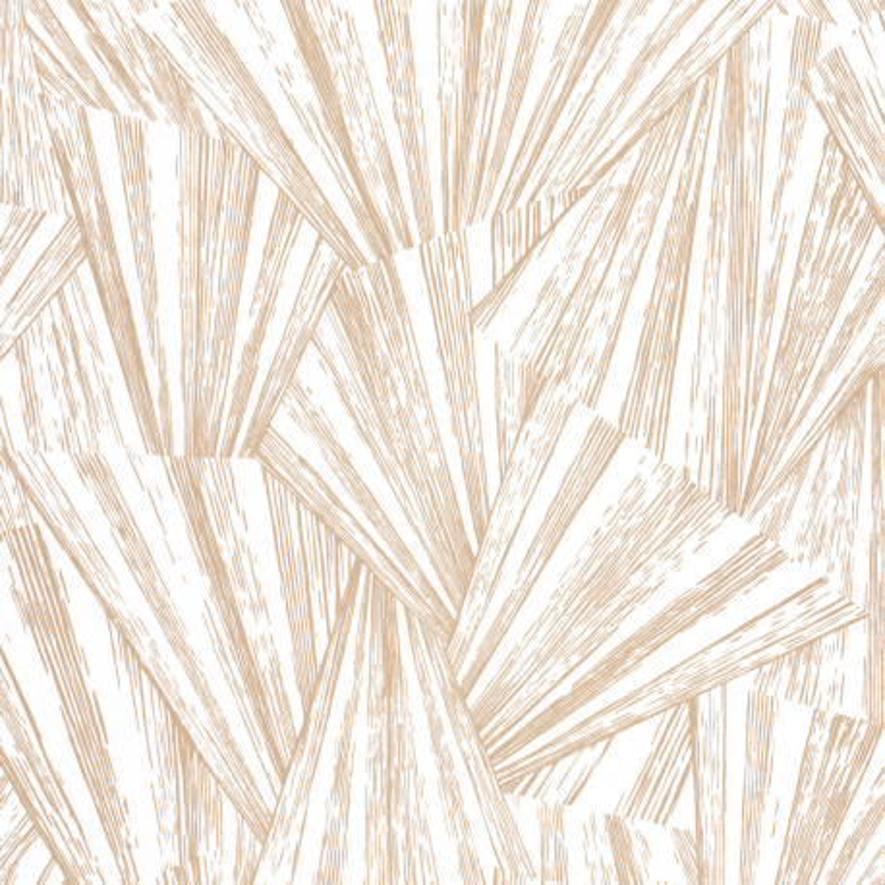 Papier peint Eclat blanc irisé  - 1930 - Casadeco - MNCT85860224