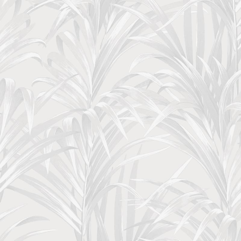 Papier peint Fougères blanc - 1930 - Casadeco - MNCT28920101