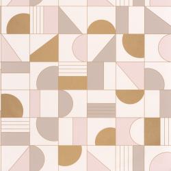 Papier peint Puzzle beige et doré - LABYRINTH - Caselio - LBY102101022