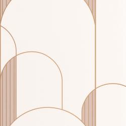 Papier peint High Walls beige et doré - LABYRINTH - Caselio - LBY102111029