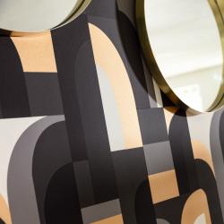 Papier peint Doors noir et doré - LABYRINTH - Caselio - LBY102089021