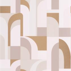 Papier peint Doors beige et doré - LABYRINTH - Caselio - LBY102081029