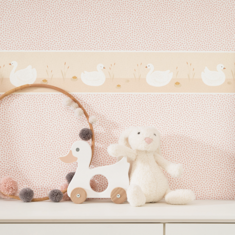 Frise enfant Léonie beige - ROSE & NINO - Casadeco - RONI85511825