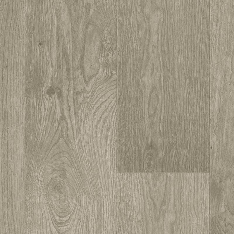 Sol PVC - Woolland parquet chêne gris - Iconik Resist TARKETT - rouleau 2M