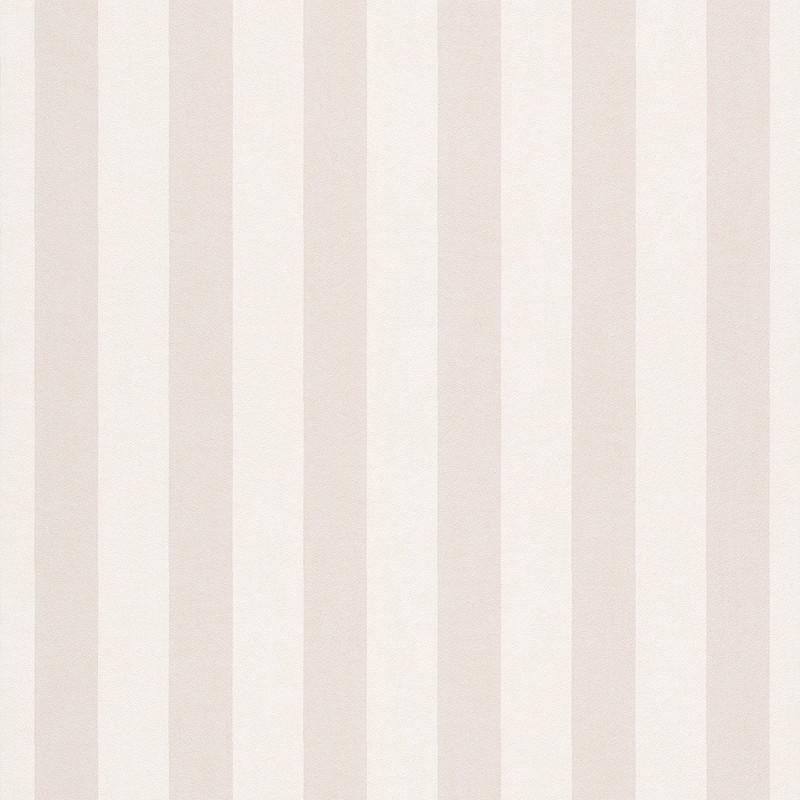 Papier peint Rayures beige clair - BAMBINO - Rasch - BBN246001