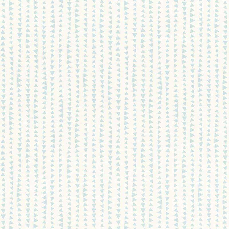 Papier peint Triangles bleu - BAMBINO - Rasch - BBN249132