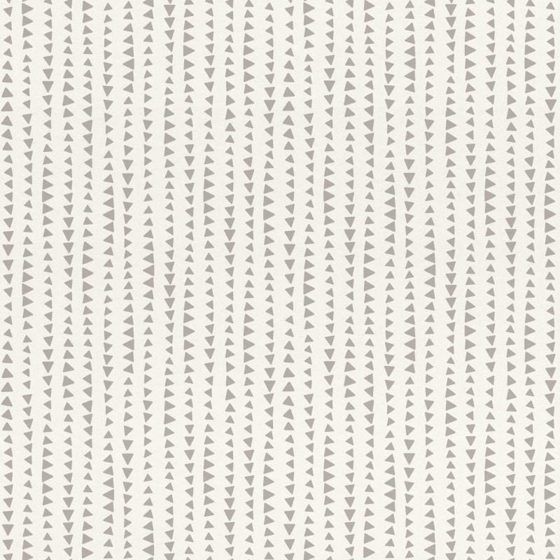 Papier peint Triangles gris - BAMBINO - Rasch - BBN249170