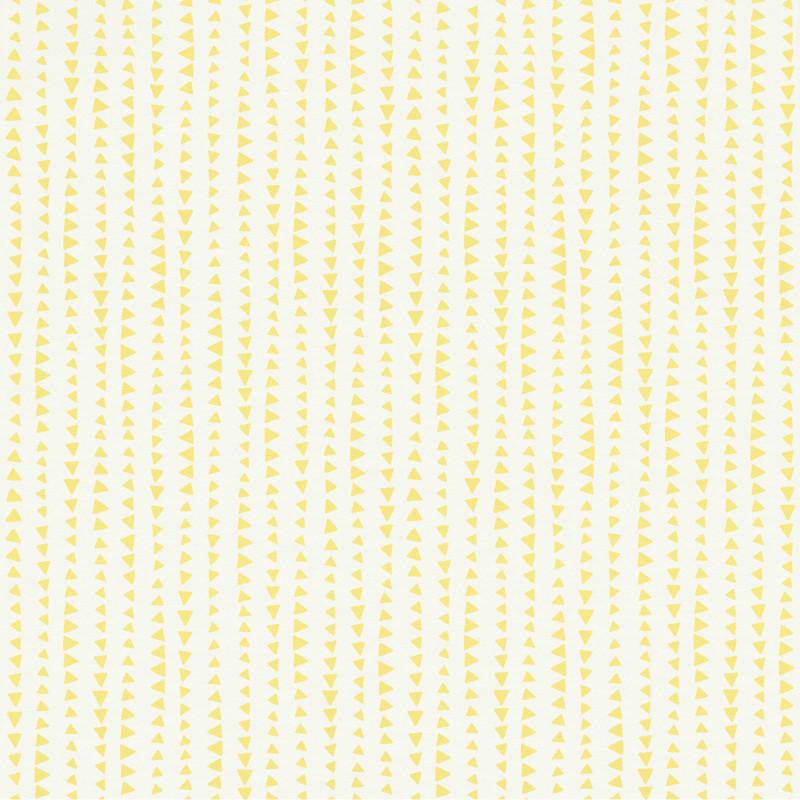Papier peint Triangles jaune - BAMBINO - Rasch - BBN249156