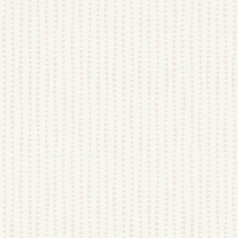 Papier peint Triangles rose - BAMBINO - Rasch - BBN249149