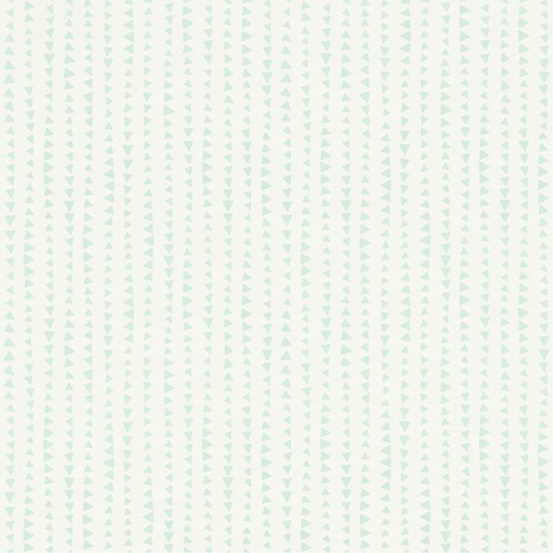 Papier peint Triangles vert d'eau - BAMBINO - Rasch - BBN249163