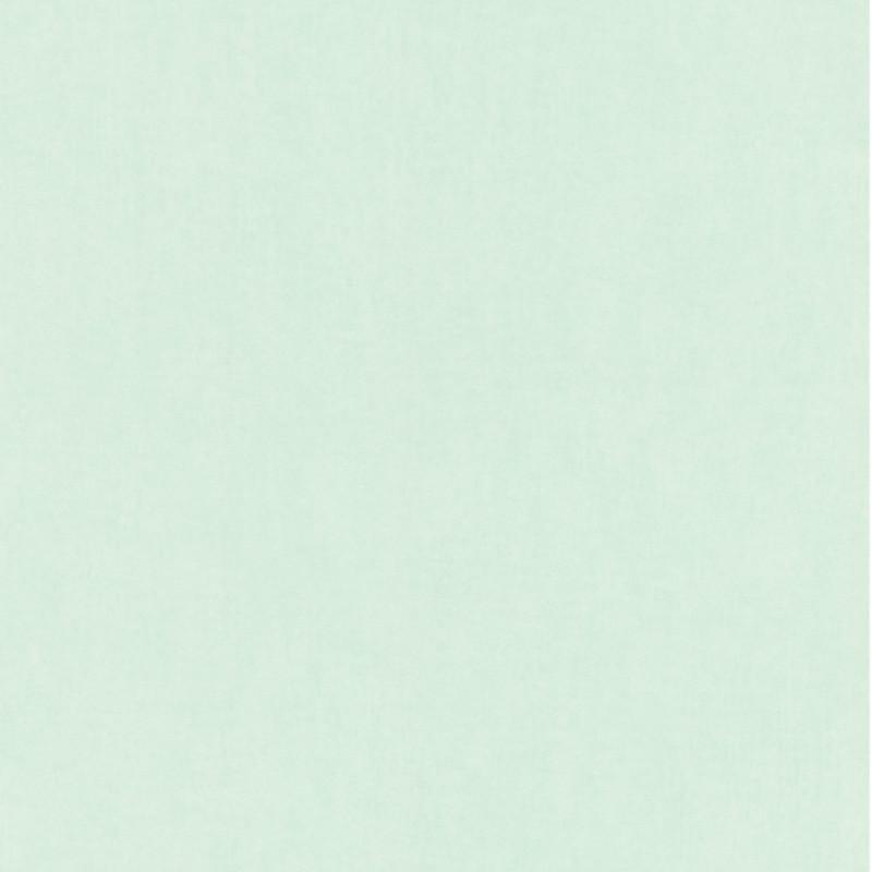 Papier peint Uni vert d'eau - BAMBINO - Rasch - BBN247107