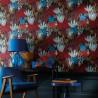 Papier peint Posidonie multicolore - ORPHEE - Casamance - ORP74700508