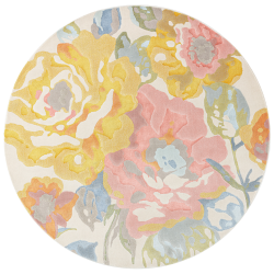 Tapis rond Fiore floral - BLOOM - Osta - OSBLOO466118990D160