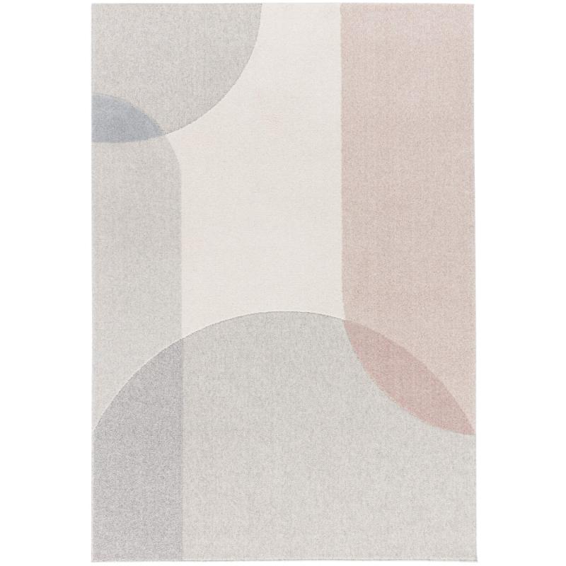 Tapis géométrique Stockholm gris - Flux - Osta - OSFLUX4617AE990160