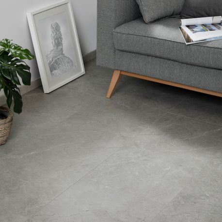 "Dalle céramique clipsable ""Dome50CERA0693B"" gris clair - Ceratouch - CORETEC"