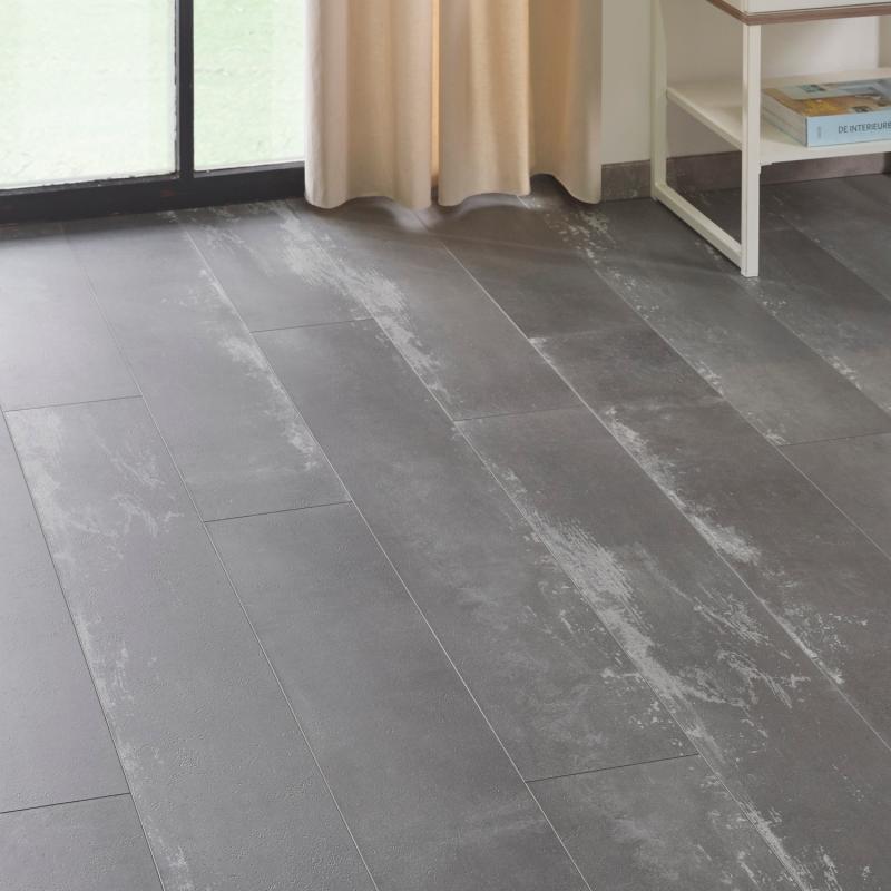 """Lame céramique clipsable """"Nuovo 50CERA0793C"""" gris clair - Ceratouch - CORETEC"""