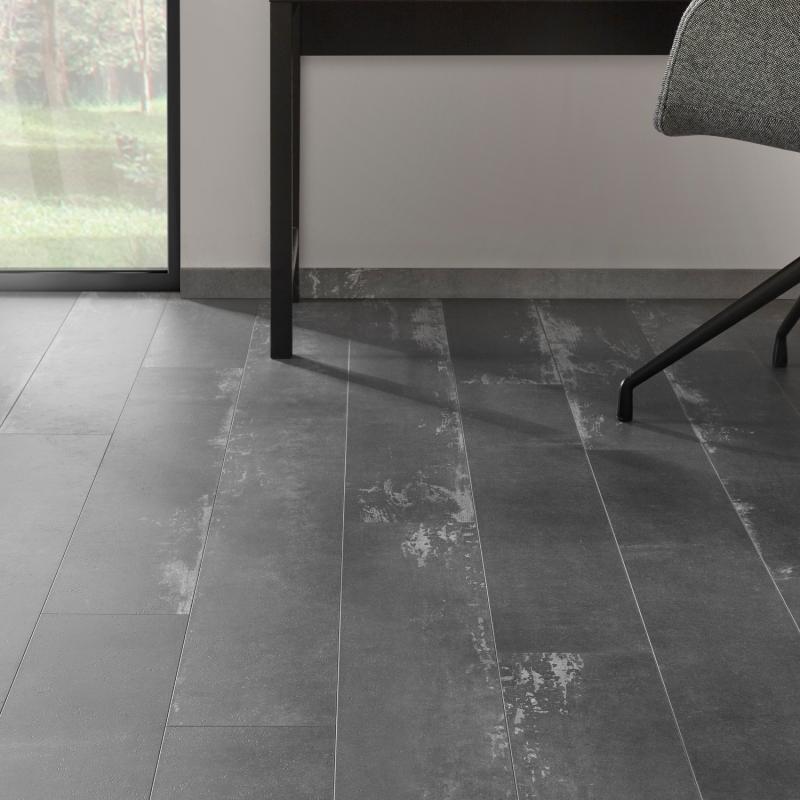 """Lame céramique clipsable """"Nuovo 50CERA0795C"""" gris foncé - Ceratouch - CORETEC"""