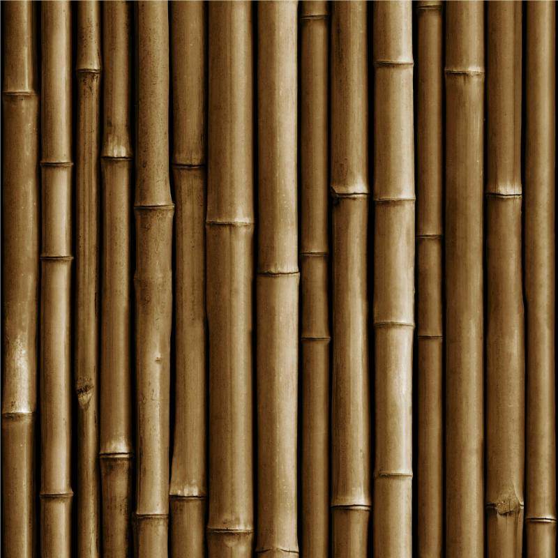 Papier peint adhésif Bamboo marron - LES ADHESIFS - Lutèce - RMK11434