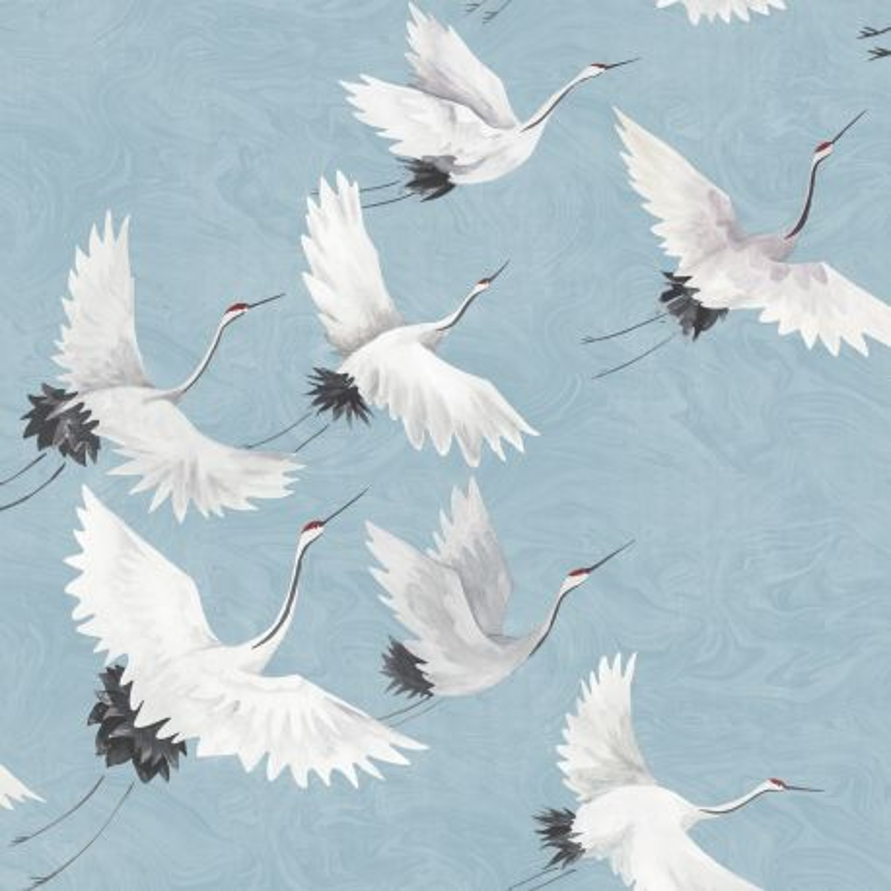 Papier peint adhésif Envol bleu - LES ADHESIFS - Lutèce - NU2680