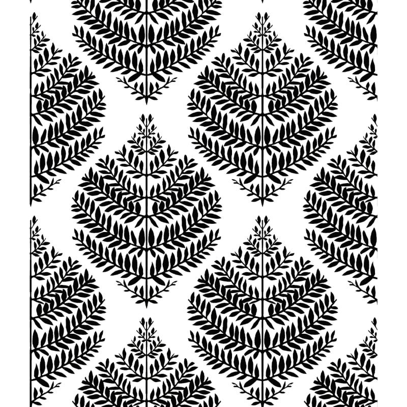 Papier peint adhésif Hygge Fern noir - LES ADHESIFS - Lutèce - RMK11509