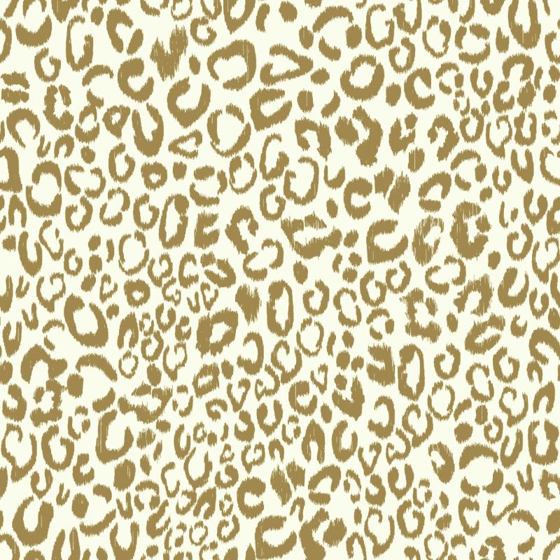 Papier peint adhésif Leopard or - LES ADHESIFS - Lutèce - RMK10700