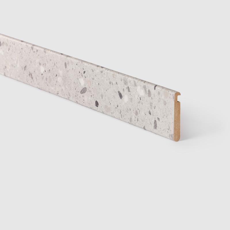 Profilé escalier de meunier ouvert Terrazzo gris 156 - Concept d'escalier Maëstro Steps
