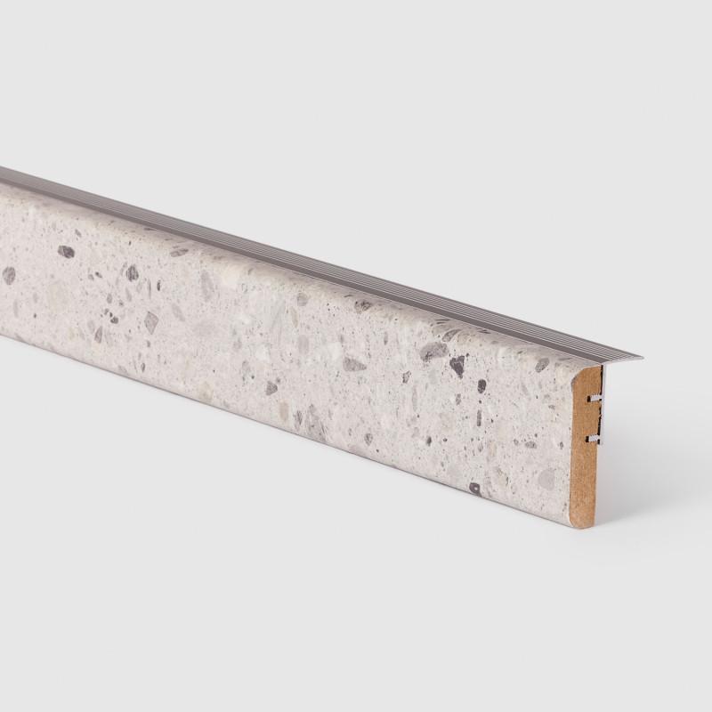 Profilé de transition Terrazzo gris 156 - Concept d'escalier Maëstro Steps