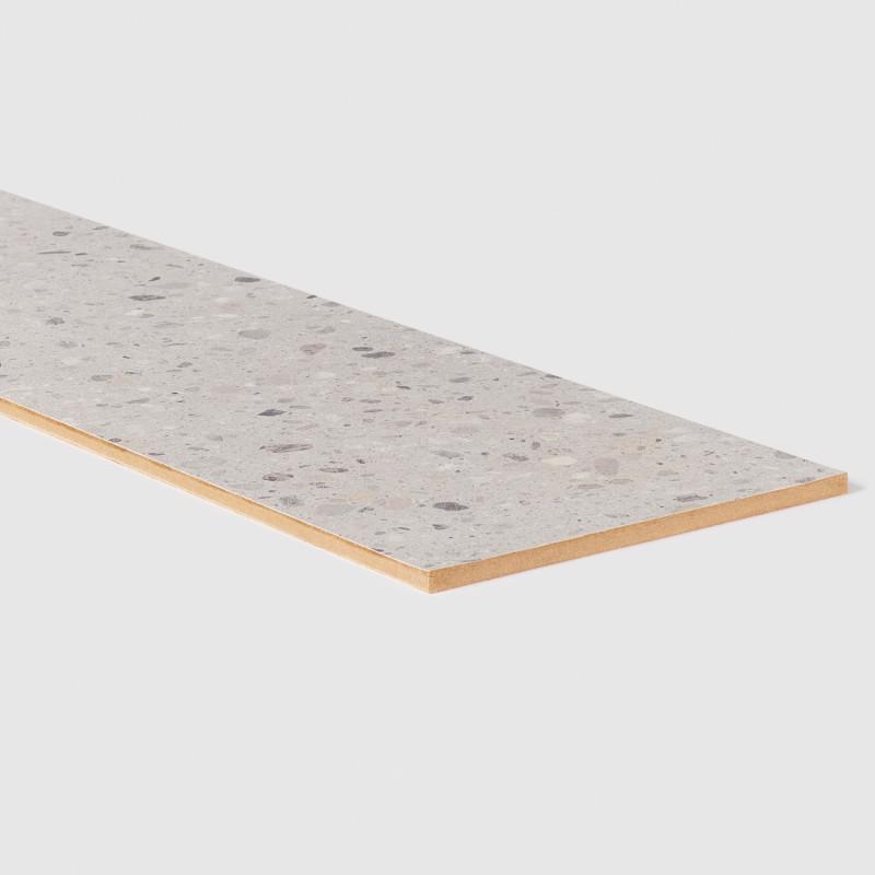 Contremarche stratifiée Terrazzo gris 156 - Concept d'escalier Maëstro Steps
