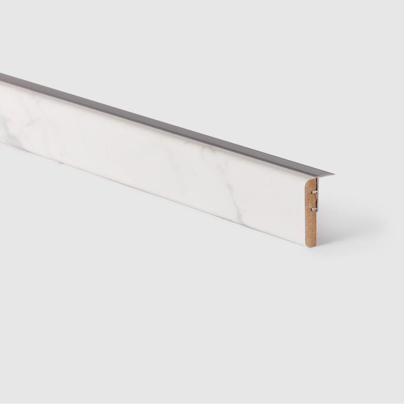 Profilé de transition Marbre blanc 153 - Concept d'escalier Maëstro Steps