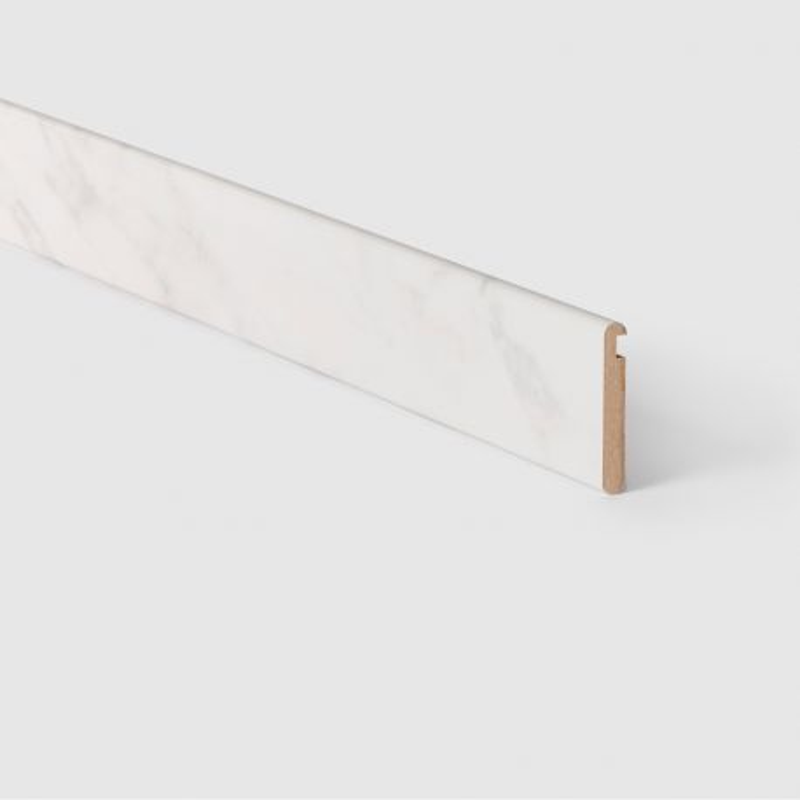 Profilé escalier de meunier ouvert Marbre blanc 153 - Concept d'escalier Maëstro Steps