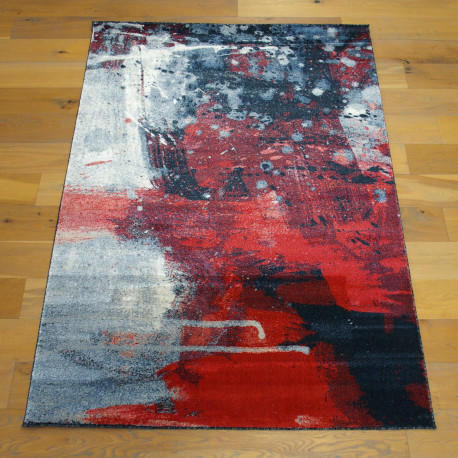 Tapis Art Contemporain rouge - 160x230cm - BOHEMIA - BALTA