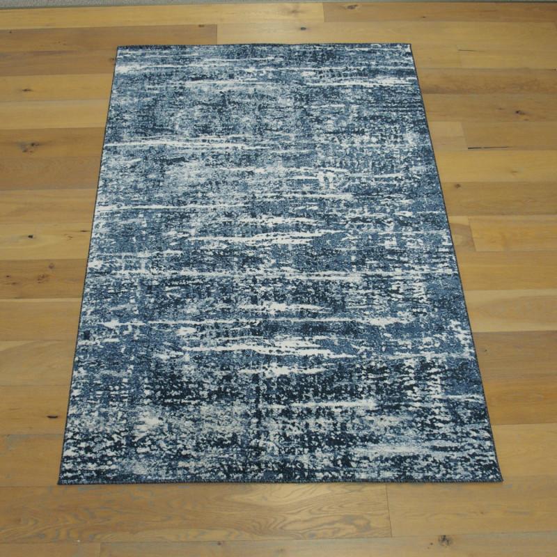 Tapis Faux uni bleu - 160x230cm - BOHEMIA - BALTA