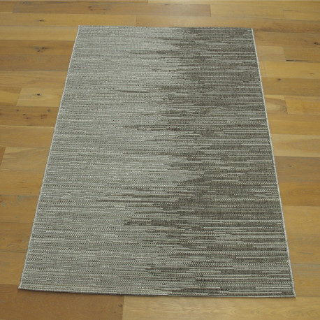 Tapis corde bicolore taupe - Grace BALTA - 2 tailles