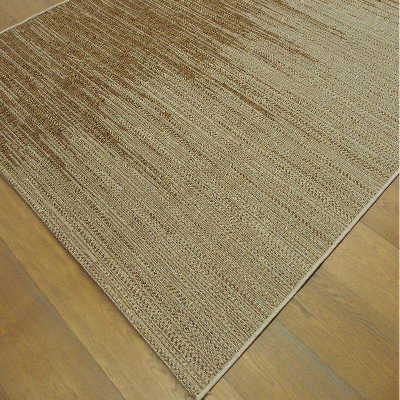 Tapis corde bicolore marron - Grace BALTA - 160x230