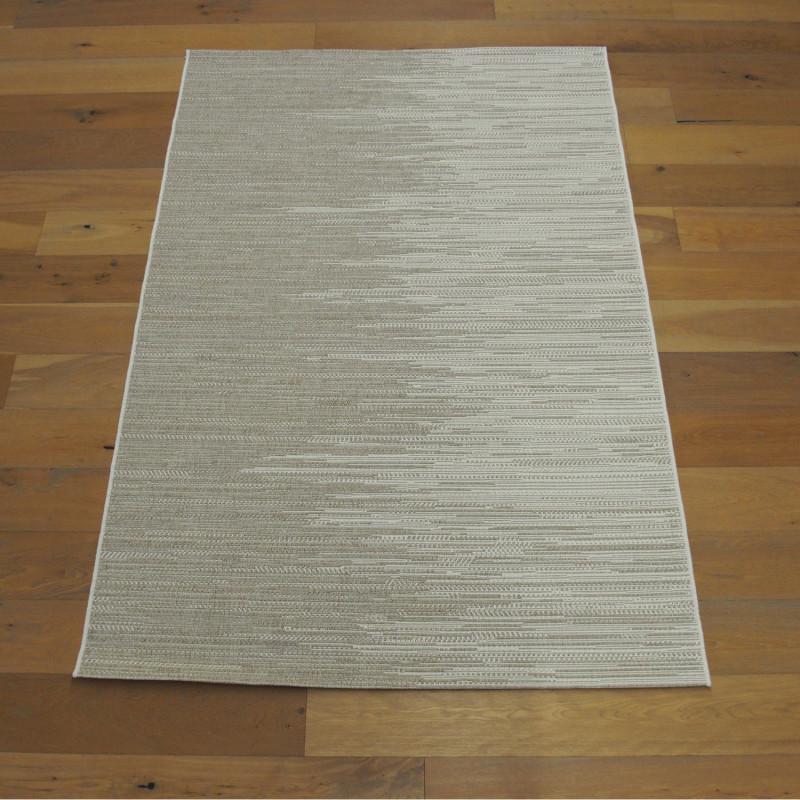 Tapis corde bicolore beige - Grace BALTA - 160x230