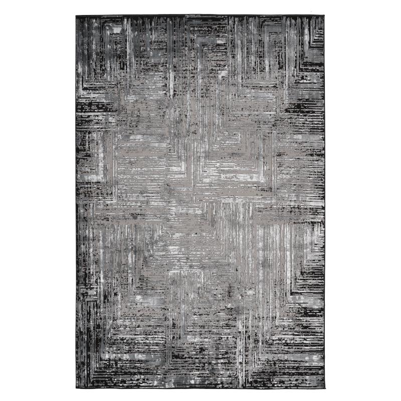 Tapis Matrix- 160x230 - Obsession - mat 460 grey