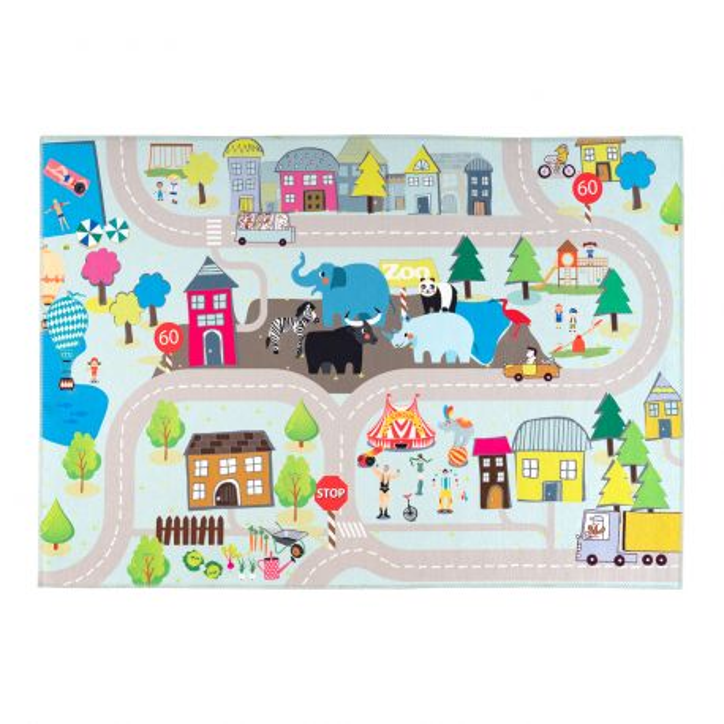 Tapis enfant Torino Kids street - 120x170 - Obsession - tok 231 street