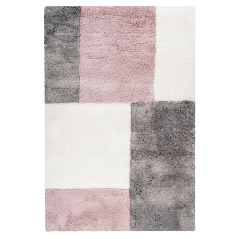 Tapis Samba Patch - 120x170 - Obsession - sap 380 powder pink