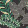 Papier peint VOYAGE noir et vert - ESCAPADE - Caselio - EPA102329779