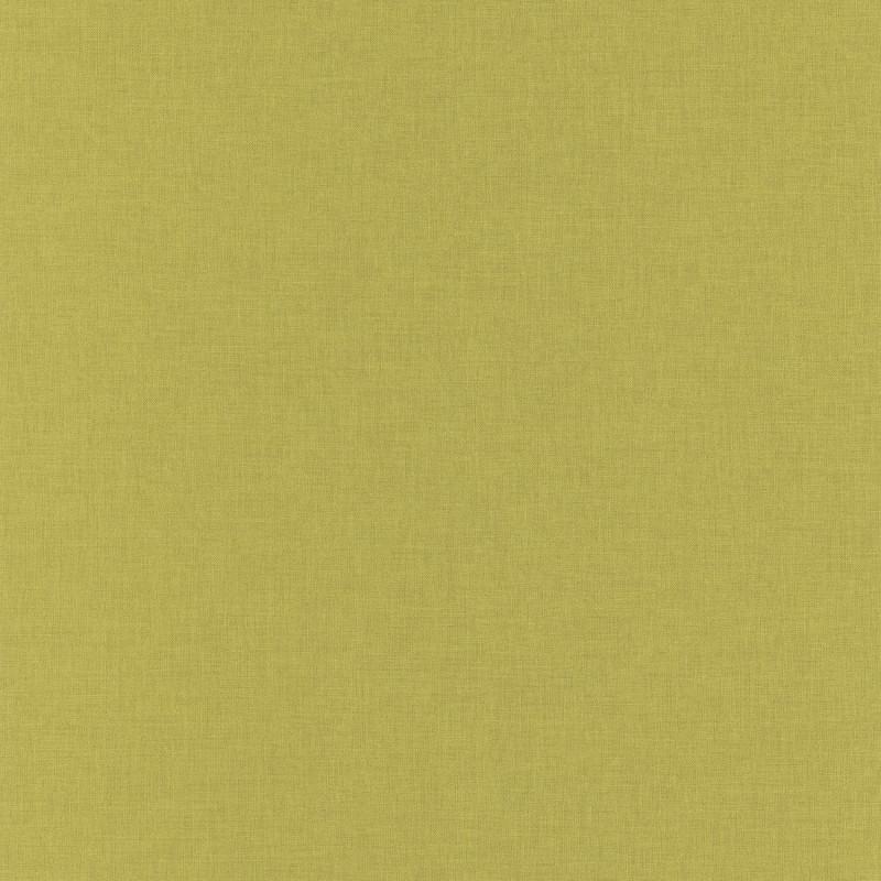 Papier peint Linen Uni vert kaki - LINEN - Caselio - INN68527355