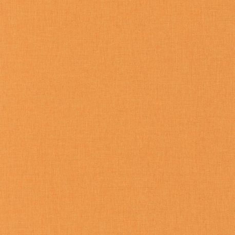 Papier peint Uni orange moyen - LINEN - Caselio - INN68523187